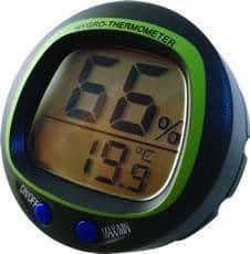 Eton panel mount thermo-hygrometer